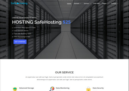 Safe Hosting  - Multipage