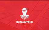 Human Check Logo Template