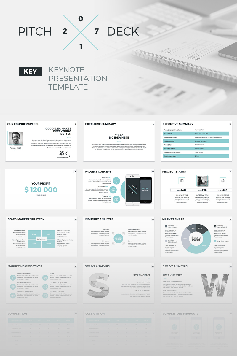 Business keynote template 64836 accmission Image collections