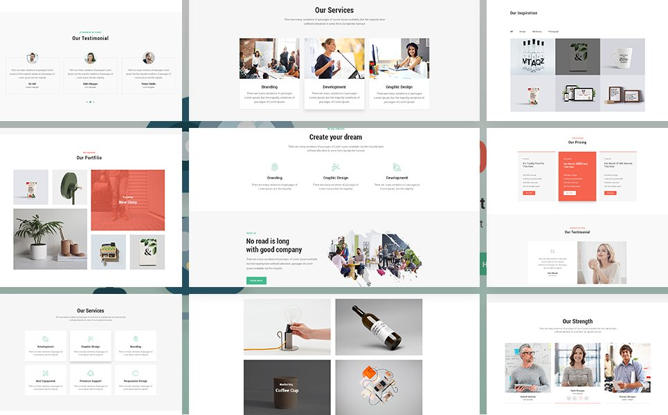 Concord - Multipurpose Website Template #67919