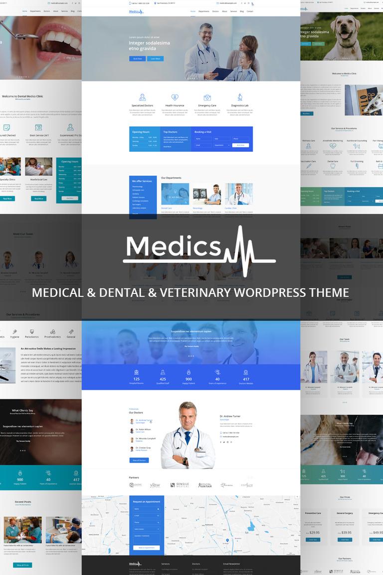 WordPress Theme #67817 für Zahnmedizin