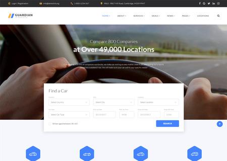 Car Renatal Multipage HTML
