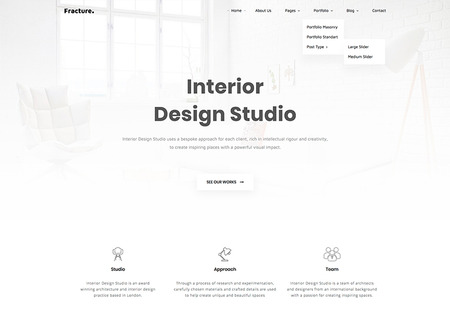 Fracture | Architecture and Interior Design Responsive