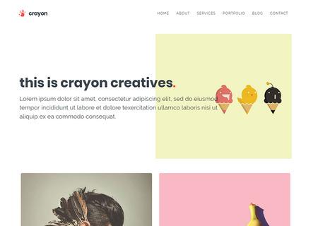 Crayon - Creative Portfolio
