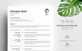 Khristan Bark - Clean Resume Template
