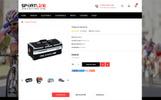 "OpenCart шаблон ""Sport Line - Sports Store"""