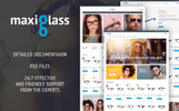 MaxiGlass - Optometric Store PrestaShop Theme