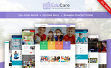 Template Web Flexível para Sites de Escola Primaria №67680