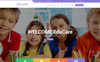 "Website Vorlage namens ""EduCare  -  Education With RTL Ready"" Großer Screenshot"