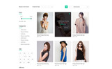 Lifestyle E Commerce PSD Template