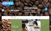 "Responzivní Magento motiv ""CofiBeans - AMP Coffee Shop"" Velký screenshot"