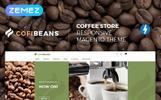 "Magento Theme namens ""CofiBeans - AMP Coffee Shop"""