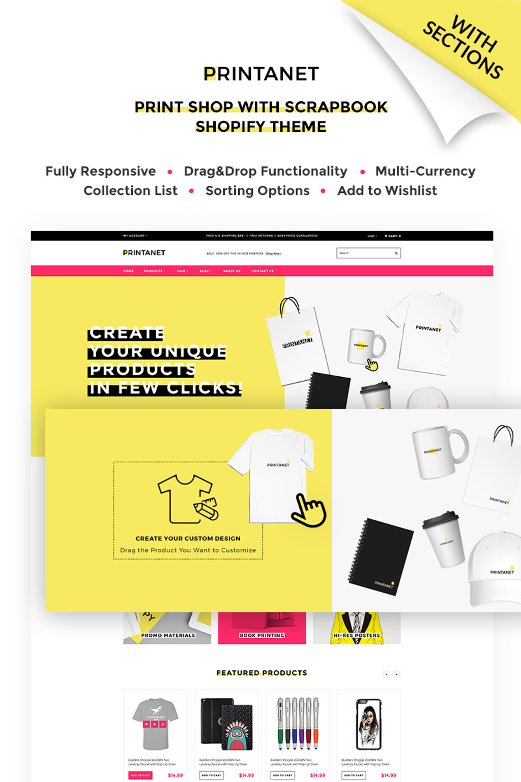 Shopify Themes | Shopify Templates | Shopify Store von TemplateMonster