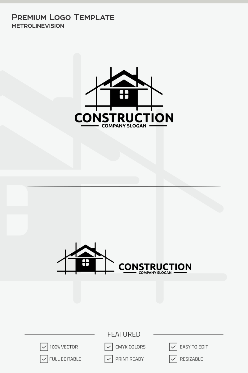 construction logo template 69783