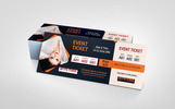 Music Party Event Ticket Corporate Identity Template