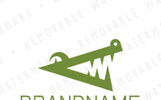 Alligator Mouth Logo Template