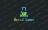 SM Lab Flask Logo Template
