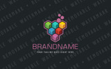 Template de Logotipo para Sites de Graphics №67779