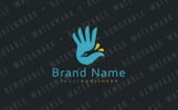 Hand of Creativity Logo Template