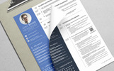 Professional Resume & CV - Resume Template
