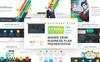 Maher - Desk Business Plan PowerPoint Template Big Screenshot