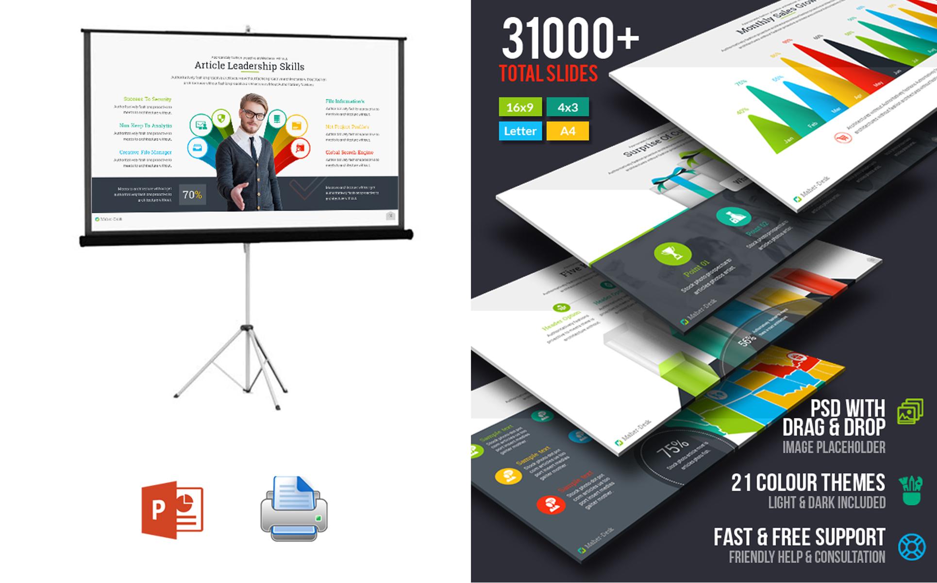 Maher desk business plan powerpoint template 67731 zoom in toneelgroepblik Choice Image