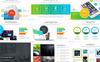 "PowerPoint Vorlage namens ""Maher - Desk Business Plan"" Großer Screenshot"