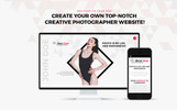 "Modello WordPress Responsive #67631 ""Jhon Doe - Photographer Portfolio"""