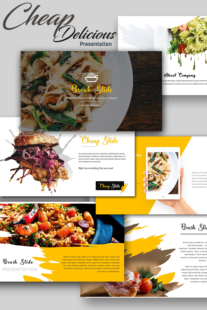 Cheap delicious presentation powerpoint template 67701 forumfinder Images