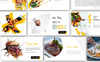 Cheap Delicious Presentation PowerPoint Template Big Screenshot