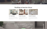 Interior Decor - Interior Design Multipage HTML5 Website Template