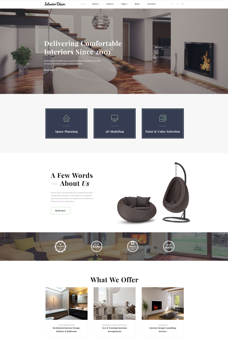 Interior Design Multipage HTML5 Template on datatable design, simple text design, web design, interactive website design, theming design, datagrid design, potoshop design, page banner design, openoffice design, company branding design, upload design, dvb design, blockquote design, spot color design, ms word design, cvs design, civil 3d design, mets design, pie graph design, interactive experience design,