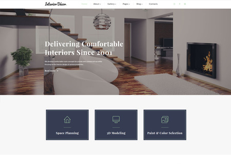 Interior Design Multipage HTML5