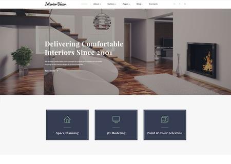 Interior Design Multipage HTML5