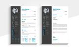 Minimal Creative CV Resume Template