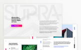 Supra PowerPoint Template