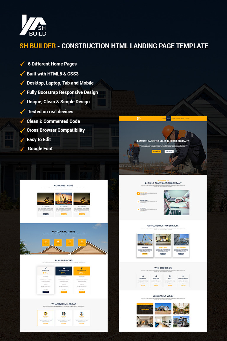 SH BUILDER - Construction HTML Landing Page Template #67922 on cheapest home designs, michigan home designs, modular home designs, gulf coast home designs, manufactured home designs, city home designs, motor home designs, humble home designs, multi home designs, 2 story designs, manufactured house designs, cottage designs, vertical home designs, motor club designs, eastern shore home designs, temporary home designs, bing home designs, country home designs, 4-plex home designs, richmond home designs,