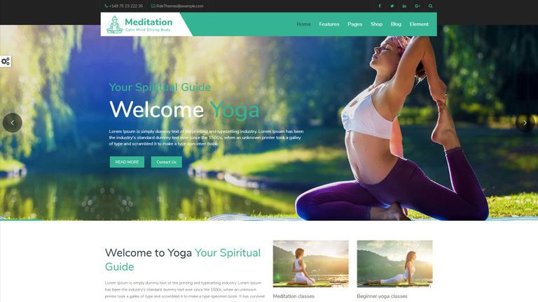 Plantilla Web #67857 para Sitio de Fitness