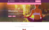 Reszponzív Meditation - Yoga, Fitness & Meditation Mobile Responsive Bootstrap HTML Weboldal sablon