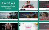 Forbes - Multipurpose HTML5 Website Template Big Screenshot