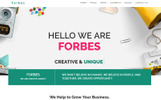Forbes - Multipurpose HTML5 Template Web №67923