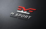 M SPORT Logo Template