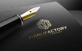 MANUFACTORY Logo Template