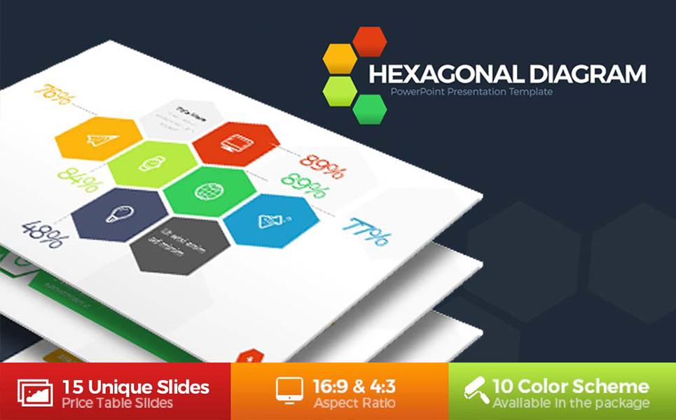Hexagonal powerpoint template 67896 hexagonal powerpoint template big screenshot toneelgroepblik Gallery