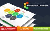 """PowerPoint Vorlage namens """"Hexagonal"""""""
