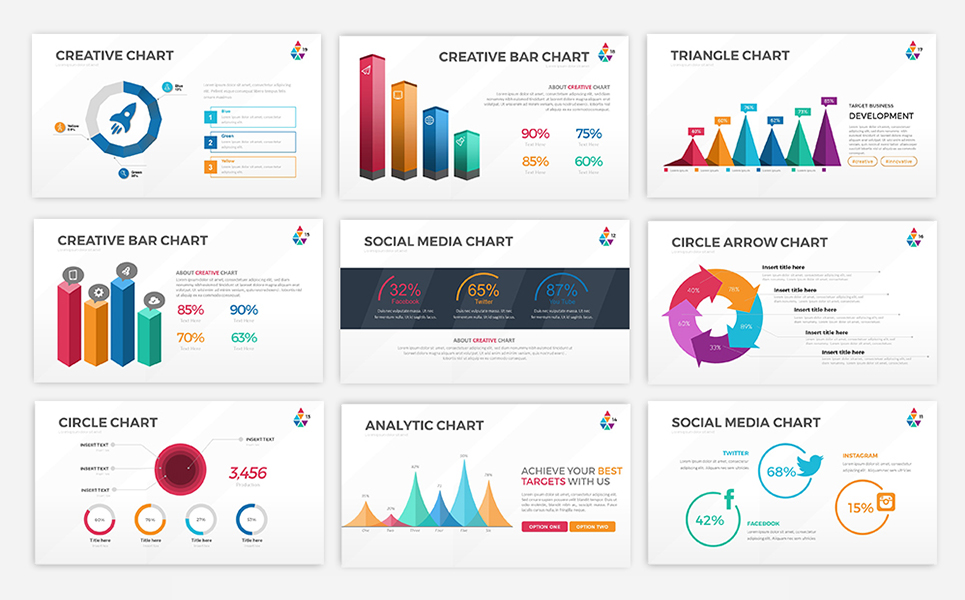 Smart chart infographic powerpoint template 67940 smart chart infographic powerpoint template big screenshot toneelgroepblik Images
