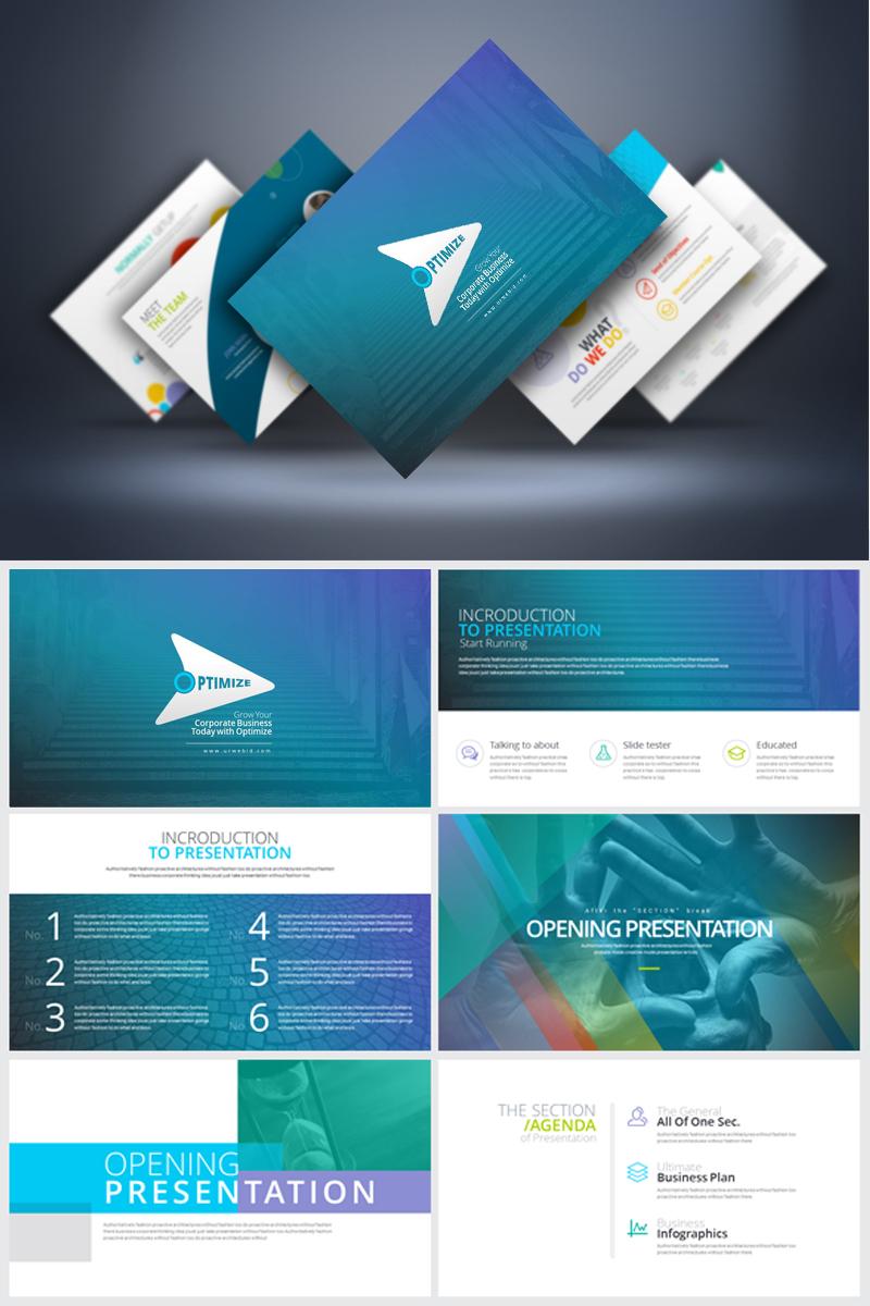 Business clean powerpoint template 67872 toneelgroepblik Gallery