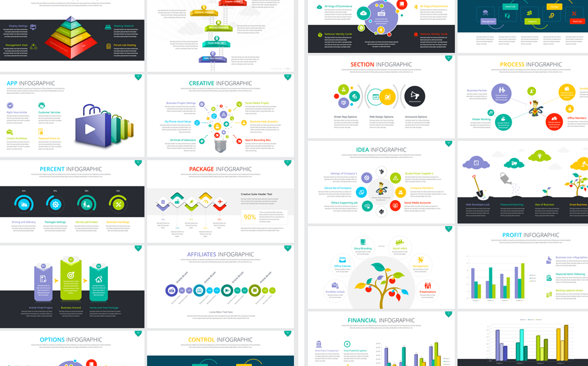 business clean powerpoint template 67872