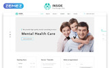 "Website Vorlage namens ""Inside - Psychology Clinic Multipage HTML5"""