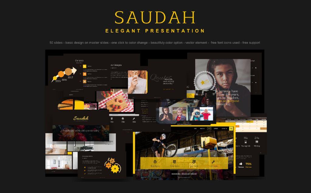 Powerpoint template saudah elegant presentation powerpoint zoom in toneelgroepblik Gallery